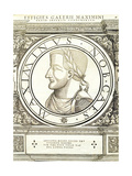 Maximinus II Reproduction procédé giclée par Hans Rudolf Manuel Deutsch