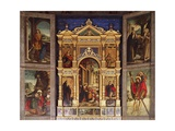 Nativity Polyptych, 1511 Giclee Print by Defendente Ferrari
