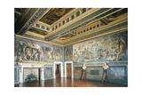 Frescoes Giclee Print by Giorgio Vasari