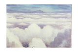 Aerial View, Probably over Flanders Giclee Print by Christopher Richard Wynne Nevinson