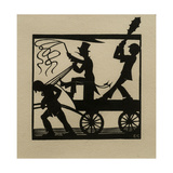 Dumb-Driven Cattle, 1915 Giclee Print by Eric Gill