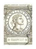 Constantinus Pogonatus Reproduction procédé giclée par Hans Rudolf Manuel Deutsch