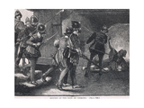 The Murder of the Earl of Desmond 1575 Giclee Print by Gordon Frederick Browne