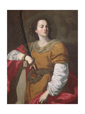 St. Christina the Astonishing, 1637 Giclee Print by Francesco Guarino