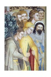 Figures of Men, Detail from Marriage of Virgin Giclee Print by Giovanni Da Milano