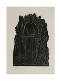 The Marriage Giclee Print by Eric Gill