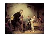 Pupils Being Punished, 1850 Giclee Print by Francis William Edmonds