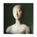 Bust of Eleonora of Aragon Giclee Print by Francesco Laurana