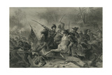 Battle of Shiloh, Tennessee, C.1862 Giclee Print by Felix Octavius Carr Darley