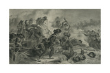 Battle at Wilson's Creek, Mo, 1878 Giclee Print by Felix Octavius Carr Darley