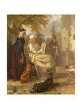 The Orphan of the Temple Giclee Print by Edward Matthew Ward
