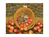 The Basket-Mouse Giclee Print by  Ditz