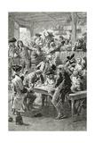 Quai De La Ferraille, 19th Century Giclee Print by Frederic Lix