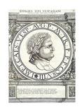 Titus Vespasianus Reproduction procédé giclée par Hans Rudolf Manuel Deutsch