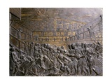 Italy, Padua, Basilica of Saint Anthony of Padua, St Anthony Heals Foot of Youth Giclee Print by  Donatello