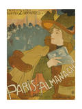 French Poster Advertising the Paris Almanac, Paris, 1894 Giclee Print by Georges de Feure