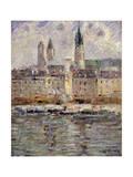 View of Rouen; Vue De Rouen, 1927 Giclee Print by Gustave Loiseau