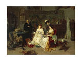 The Antique Dealer, 1889 Giclee Print by Gerolamo Induno