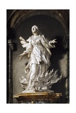 St Agnes, Marble Sculpture Giclee Print by Ercole Ferrata