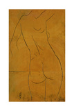 Female Nude, Back View Giclee Print by Eric Gill