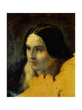 Head of Young Woman Giclee Print by Giuseppe Sogni