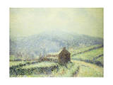 Hoar Frost at Huelgoat, Finistere; Gelee Blanche Au Houelgouat Finistere, 1903 Giclee Print by Gustave Loiseau