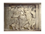 Tile with Dancing Putti Giclee Print by  Donatello