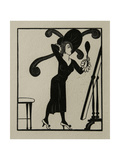 Dress, 1920 Giclee Print by Eric Gill