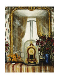 Mantelpiece, France Giclee Print by Christopher Richard Wynne Nevinson