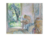 Intimacy, or Waking Up Giclee Print by Henri Lebasque