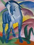 Blue Horse, 1911 Gicléetryck av Franz Marc