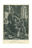 Illustration for Othello Giclee Print by Charles Gregory
