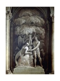 Adam and Eve, 1732 Giclee Print by Francesco Fontebasso