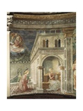 Annunciation, Detail from the Stories of the Virgin, 1467-1469 Giclee Print by Filippo Lippi