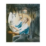 Working Controls While Submerged, 1941 Giclee Print by Eric Ravilious