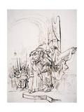 Biblical Scene Giclee Print by Gerbrandt Van Den Eeckhout