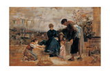 First Steps, 1875 - 1895 Giclee Print by Demetrio Cosola
