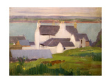 The Artist's Studio, Iona, from St. Columba Hotel Giclee Print by Francis Campbell Boileau Cadell