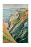 Cliffs and Sea Giclee Print by Emile Bernard
