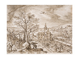 Spring, 1608 Giclee Print by Hans Bol