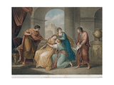 Virgil Reading His Aeneid, 1796 Giclee Print by Francesco Bartolozzi