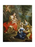 Allegory of Innocence Giclee Print by Giuseppe Bonito