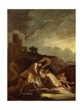 Adonis' Death Giclee Print by Giulio Carpioni