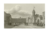 Great Court Yard at Dublin Castle Giclee Print by George Petrie
