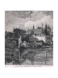 The Palace of Westminster in the Time of Charles I 1604 Giclee Print by John Fulleylove