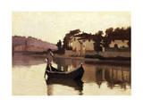 Arno at Casaccia, 1863 Giclee Print by Giuseppe Abbati