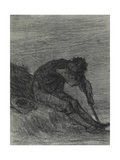 The Tired Haymaker Giclee Print by Jean-François Millet