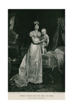 Maria Louisa and the King of Rome Giclee Print by Francois Pascal Simon Gerard