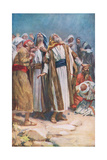 The Ascension Giclee Print by Harold Copping
