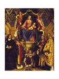 Madonna and Saints, 1513 Giclee Print by Girolamo Romanino